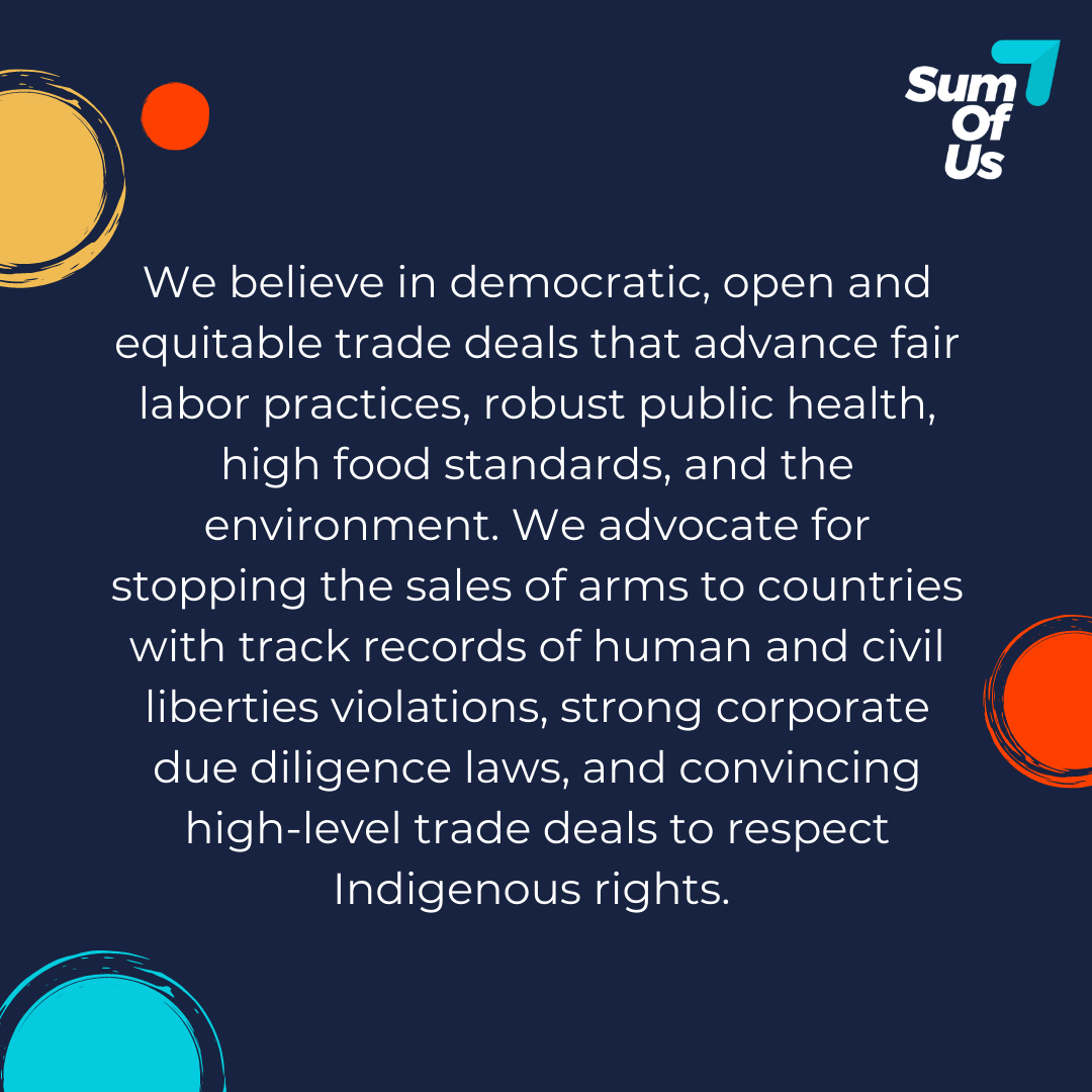 Equitable Trade and Finance Deals